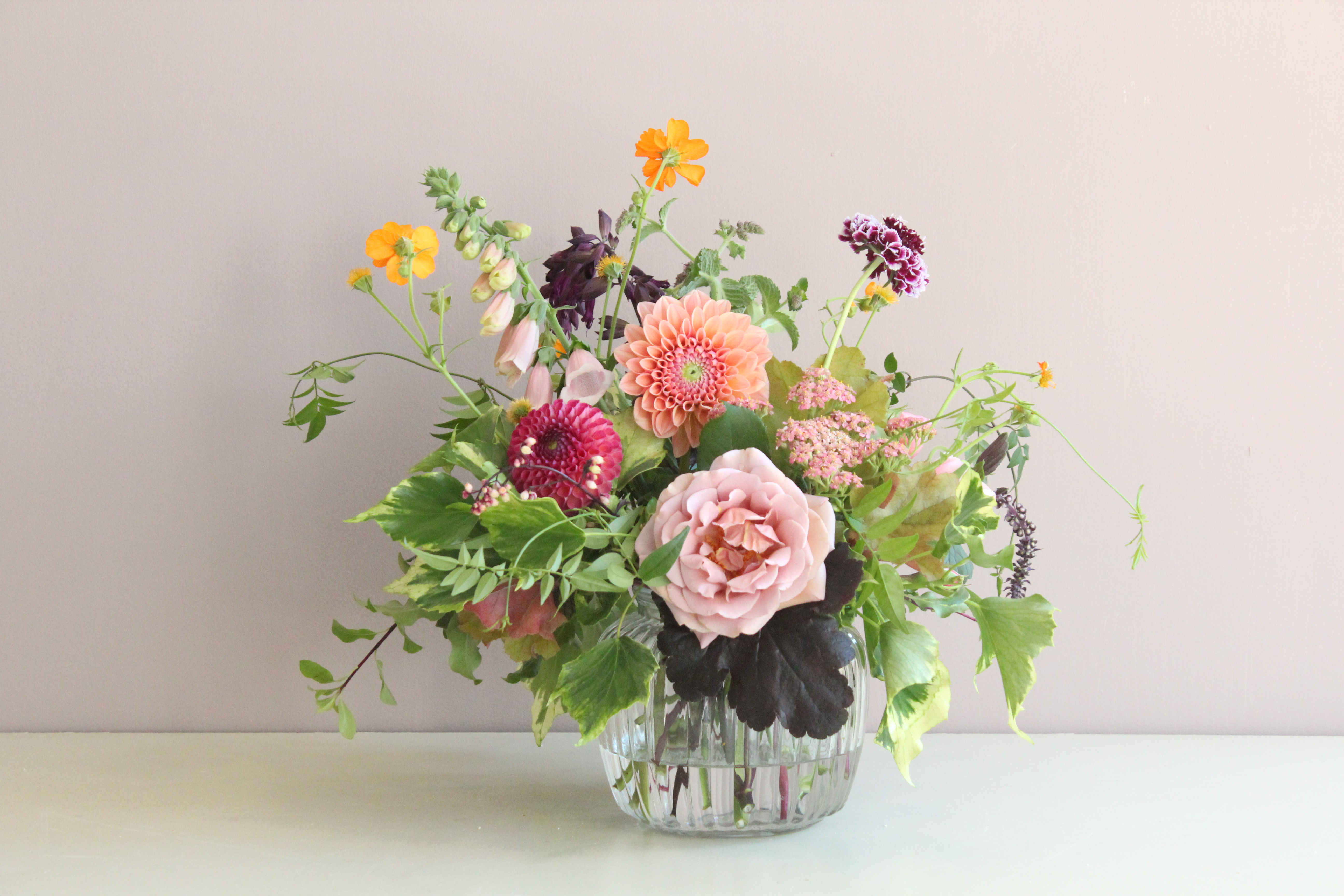Spring Floral Design with FarmGal Flowers