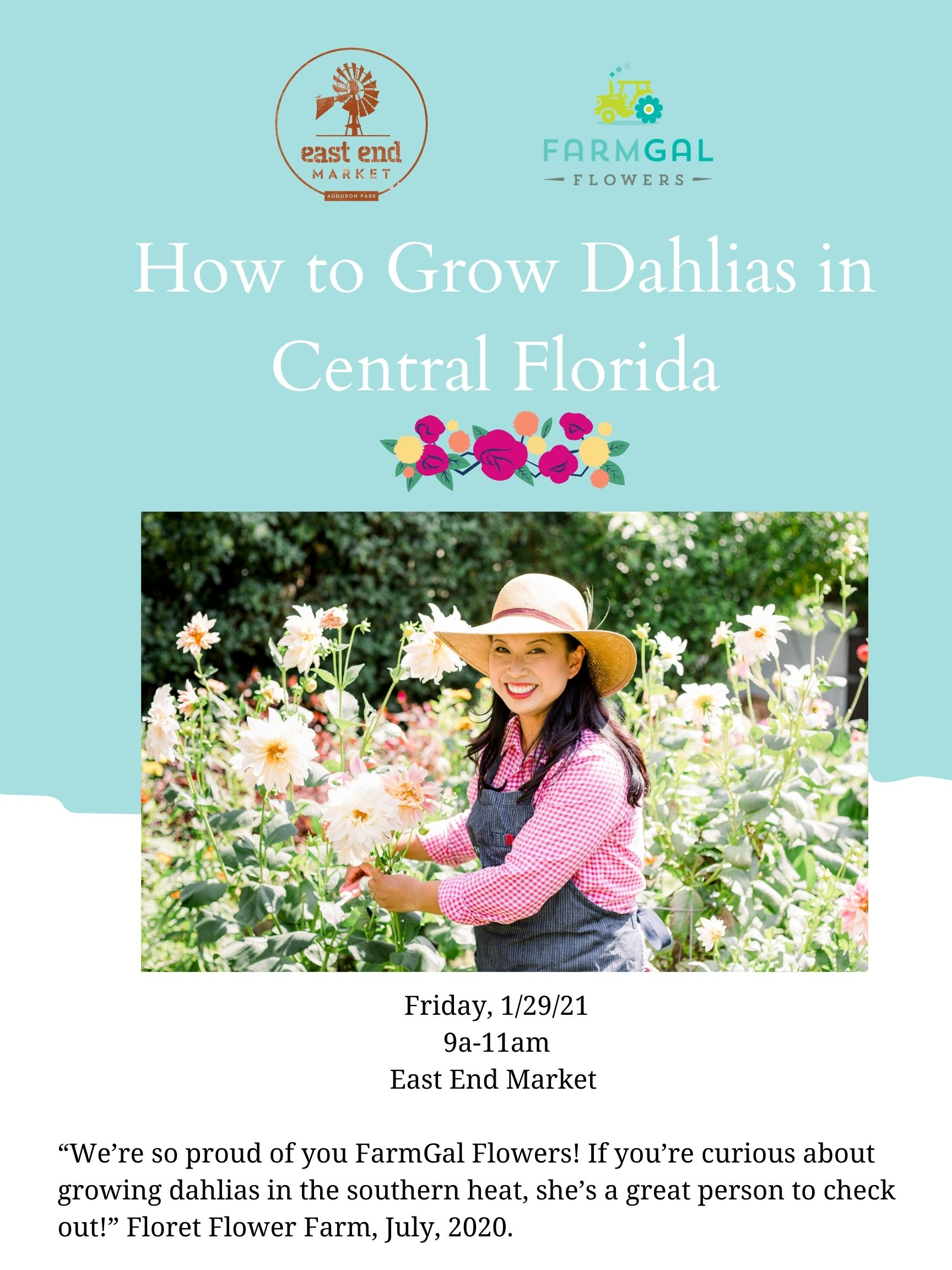 How to Grow Dahlias in Central Florida