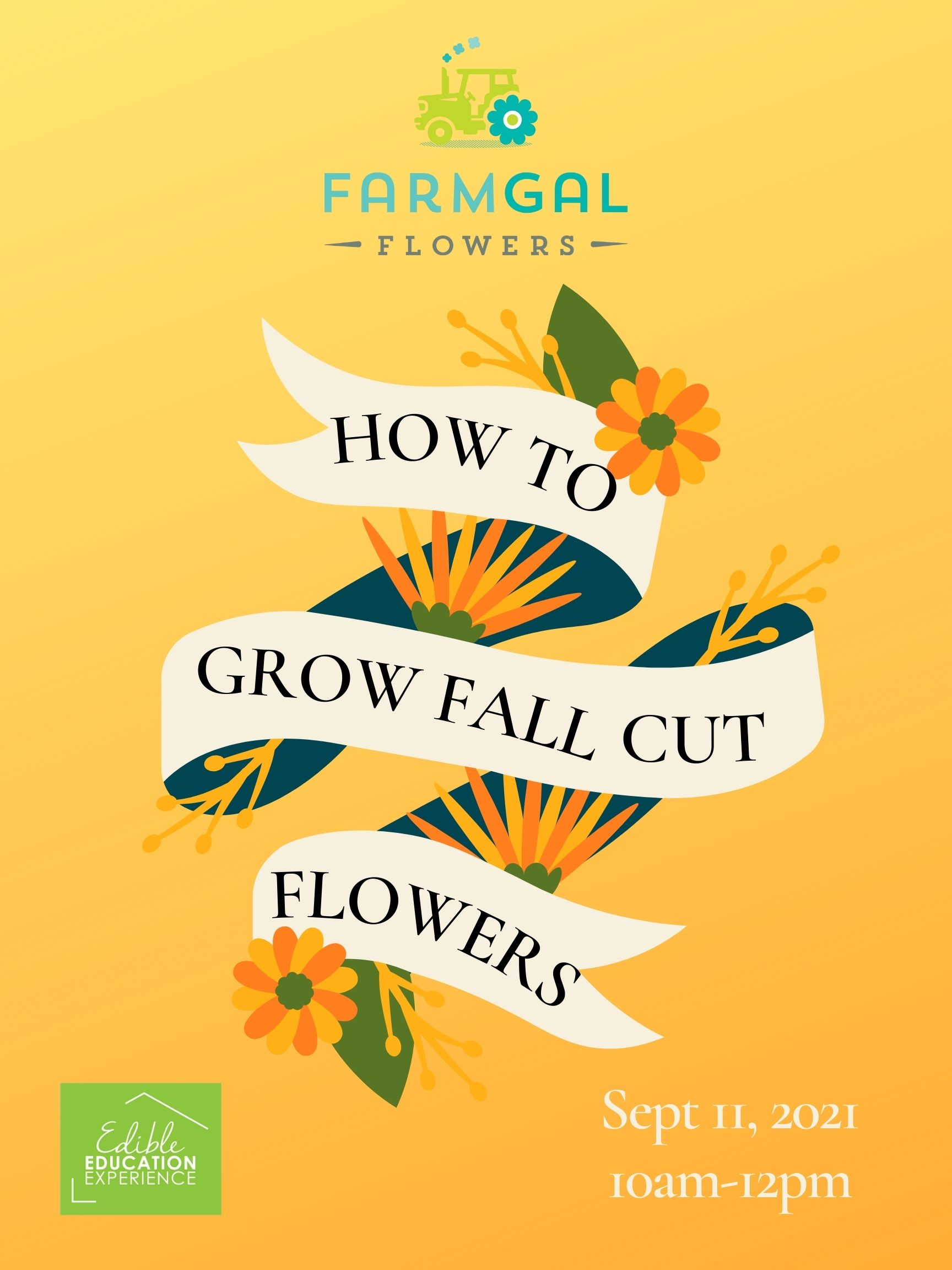 How to Grow Fall Cut Flowers in Central Florida